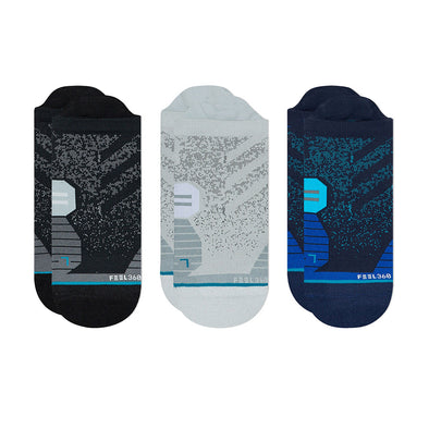 Stance Run Tab 3 Pack Socks Men's