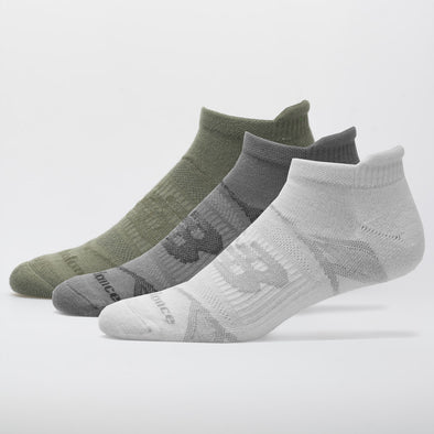 New Balance Performance Cushioned Tab Sock 3 Pack