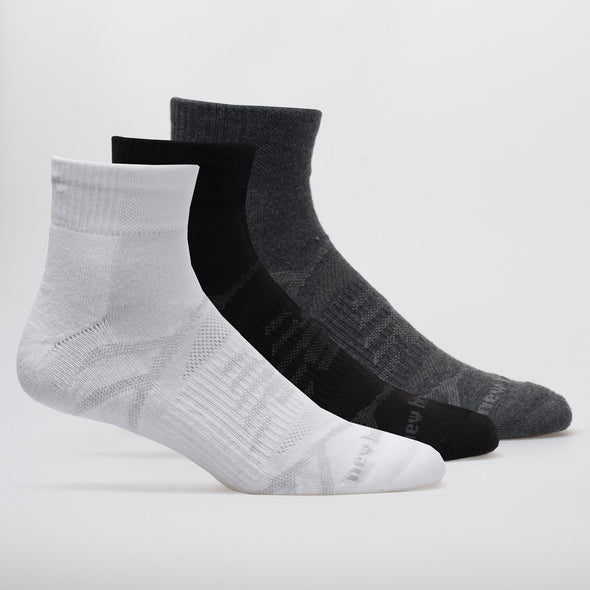 New Balance Performance Cushioned Ankle Socks 3 Pack