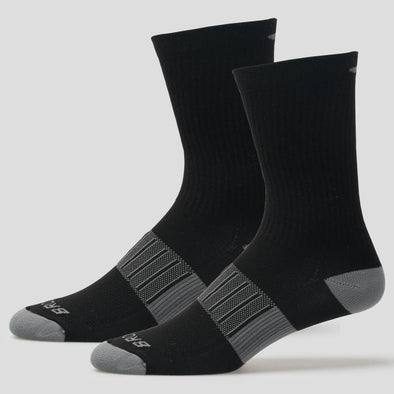 Brooks Ghost Midweight Crew 2 Pack Socks