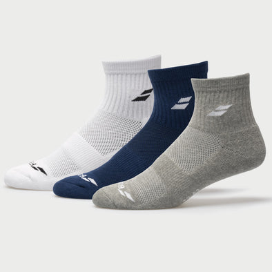 Babolat Quarter Socks 3 Pack Men's