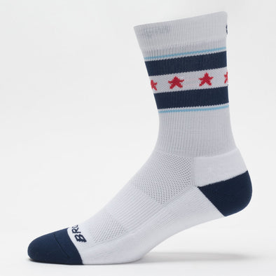 Brooks Go USA Tempo Knit Crew Socks