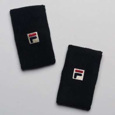 Fila Solid Double-Wide Wristbands