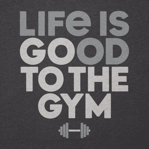Life is Good Go To The Gym Cool Tee Men's