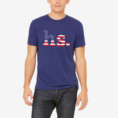 "Holabird Sports ""HS."" USA Flag T-Shirt"