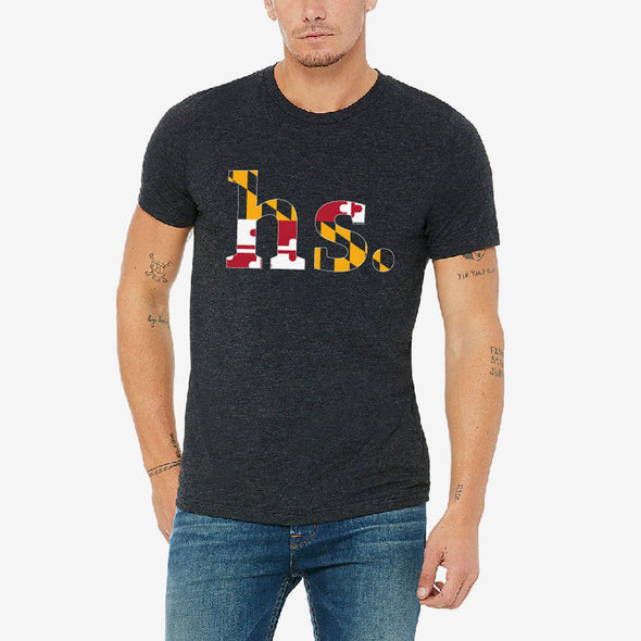 "Holabird Sports ""HS."" Maryland Flag T-Shirt"