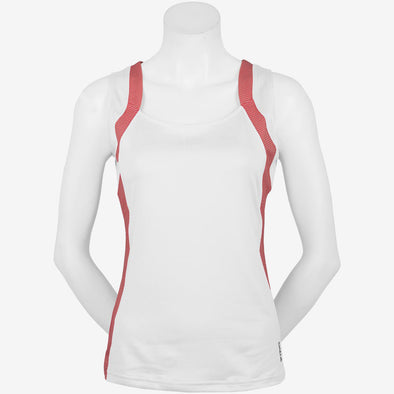 Bolle Womens Chianti Jewel Neck Sport Tank With Color Blocking