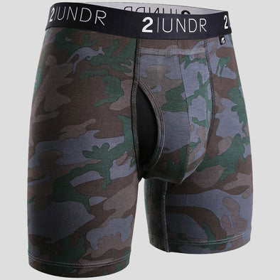 "2UNDR Swing Shift 6"" Boxer Briefs Patterns"