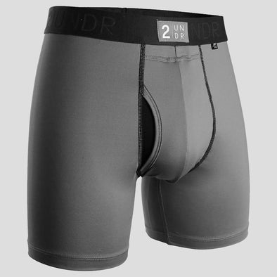 "2UNDR Power Shift 6"" Boxer Brief Solids"
