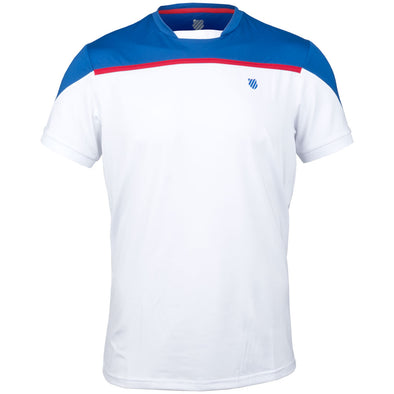 K-Swiss Hypercourt Block Crew Tee 2 Men's