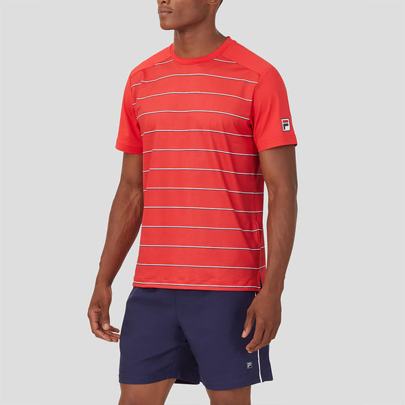 Fila Heritage Tennis Stripe Crew Men's