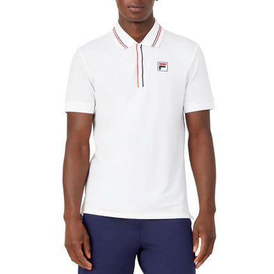 Fila Heritage Tennis Jacquard Polo Men's