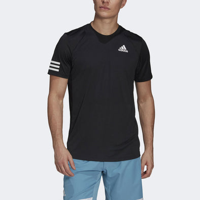 adidas Club 3-Stripe T-Shirt Men's
