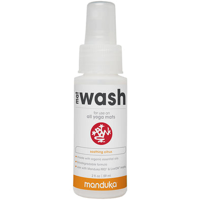 Manduka Mat Wash Renew Spray 2oz Bottle