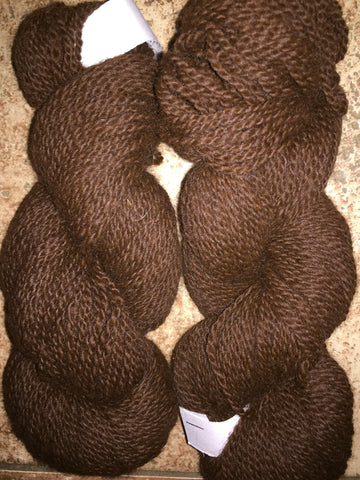 200 Yard Skein of 1200YPP Alpaca 2-Ply Worsted