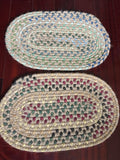 Cotton Woven Placemats / Table Toppers