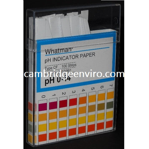 0.0 to 14.0 pH Range, Colour Bonded, pH Indicator Strips