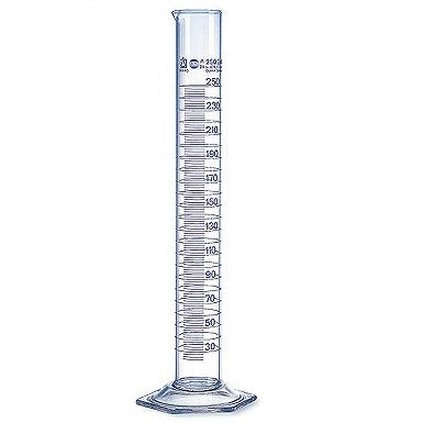 Class A, USP, Certified Graduated Cylinder 100ml