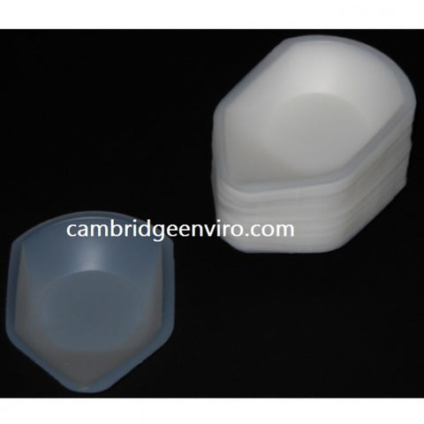 140ml Capacity, Medium Weigh Canoe, 100 Canoes