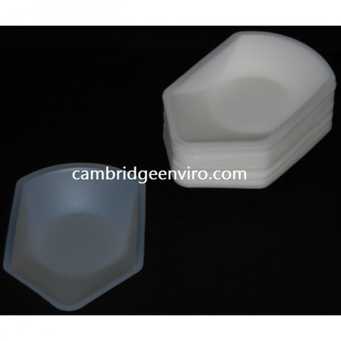 270ml Large Weigh Canoe -100 pck.  | Cambridge Environmental
