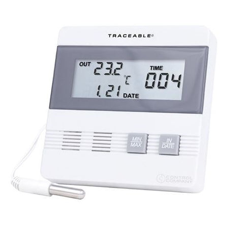 Thermometer -40 to 80°C Digital, Min/Max