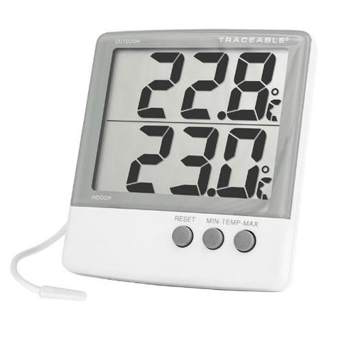 Thermometer -50 to 70°C Digital, Big Digit
