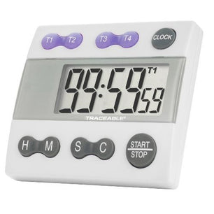 4 Channel, Traceable, Digital Alarm Timer