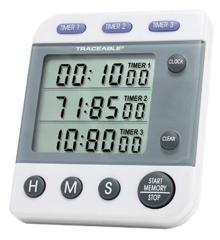 Three Line, Programmable, Traceable, Digital Timer