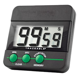 99 Minute, Traceable, Digital Timer