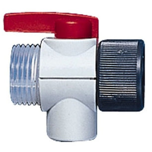 1-100ml Safety Prime Valve - Red Valve Lever