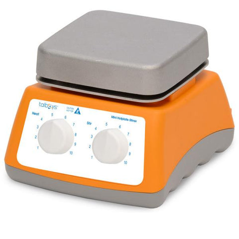 120V Mini Hotplate-Stirrer - Ergonomic | Cambridge Environmental