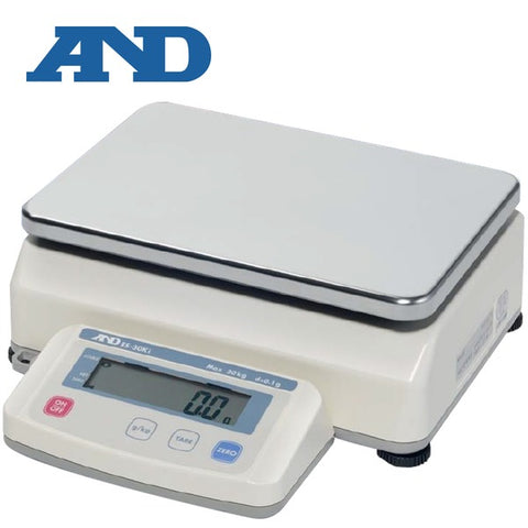 A&D EK-30KLK - 30kg x 0.1g  Precision Scale with Underhook | Cambridge Environmental
