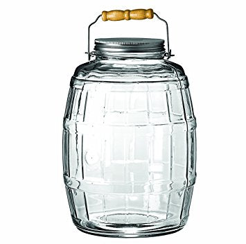 2.5 Gallon Barrel Jar with Carrying Handle