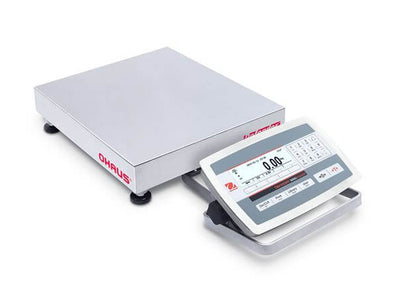 "Ohaus Defender 5000 - 50kg x 2g Legal for Trade Bench Scale - 12"" x 14"""