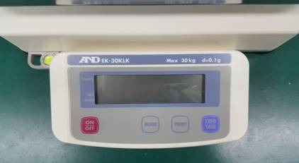 A&D EK-30KLK - 30kg x 0.1g  Precision Scale with Underhook