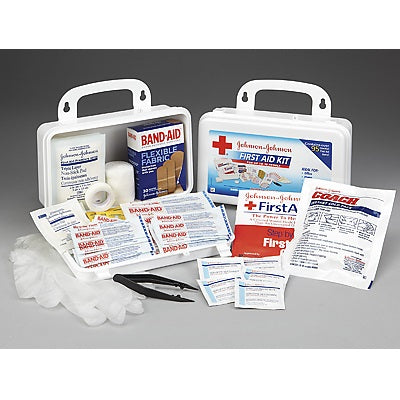 Regulated First Aid Kit for 10 People, 97 Items included