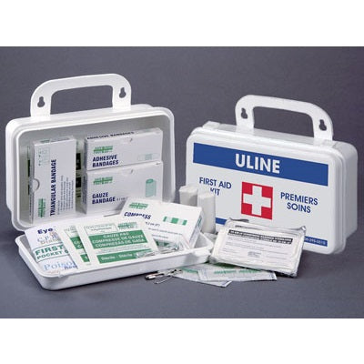 Regulated First Aid Kit for 5 People, 34 Items included