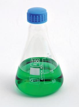 500ml Erlenmeyer Flask with Screw Cap