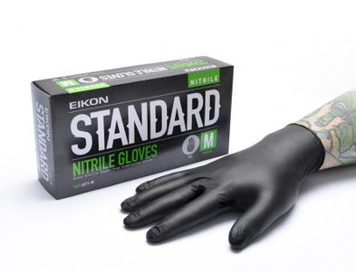 Powder Free Nitrile Gloves - 100 Gloves