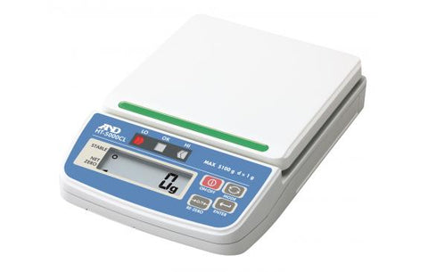 A&D HT-300CL - 310 g x 0.1g Compact Checkweigher Scale with Case | Cambridge Environmental