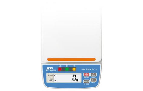 A&D HT-5000CL - 5100 g x 1.0g Compact Checkweigher Scale with Case | Cambridge Environmental