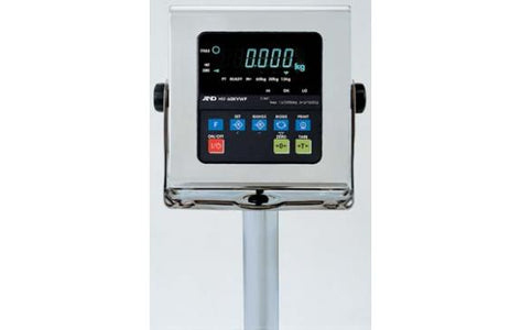 A&D HV-200KWP - 60/150/220kg x 20/50/100g Washdown, Legal for Trade Check Weighing Scale 2 Year Warranty