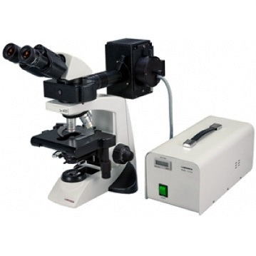 4x-100x Magnification, Binocular Fluorescence Compound Microscope