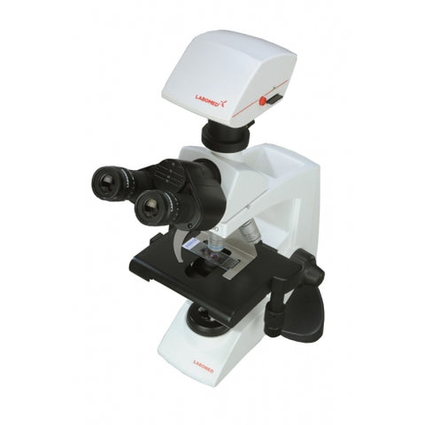 4x-100x Magnification, Trinocular Microscope with 5.0MP Digital Camera