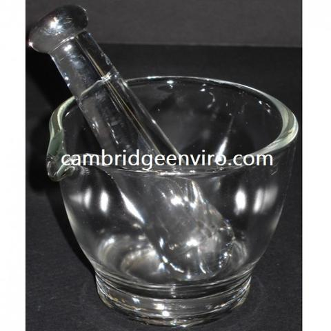 Glass Mortar & Pestle