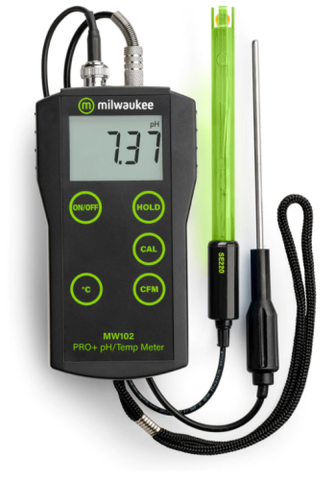 Ohaus ST300D Portable Dissolved Oxygen Meter with 20.0 - 45.0 mg/L Range, 0.1 mg/L Resolution