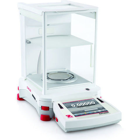 Ohaus EX225D/AD - 120 / 220g x 0.01 / 0.1mg Semi-Micro Balance with Built in Ionizer