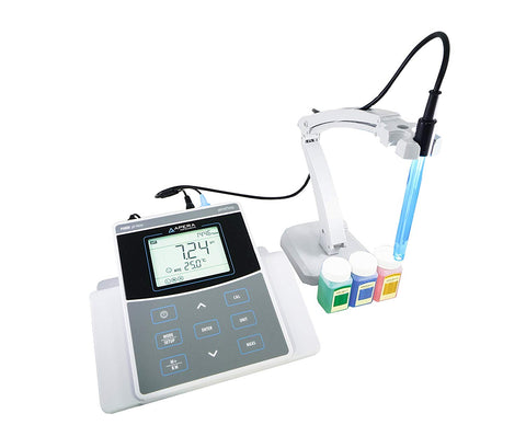Apera Instruments Ph800 Laboratory Benchtop Ph/Temperature Meter Kit, 0.01 Ph Accuracy, GLP Data Management (USB output), Plastic/Glass
