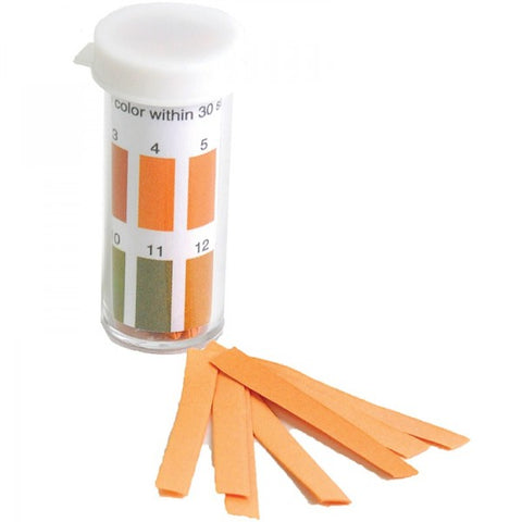 1 to 14pH Range, pH Test Paper, 100 Strips