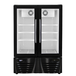 Low Profile Upright Laboratory Fridge - Double Door